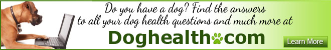 Dog Health have a dog