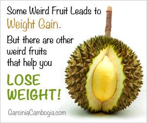 Weird Fruit Lose Weight Garcinia